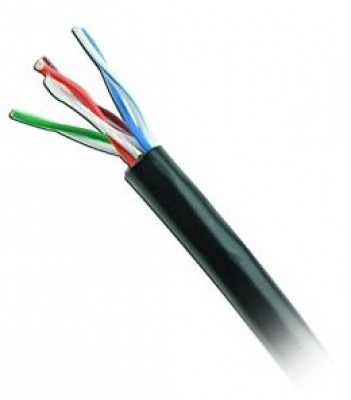 Cable UTP CAT5e-OUTDOOR-NEGRO WAM CAT5e-OUTDOOR-NEGRO