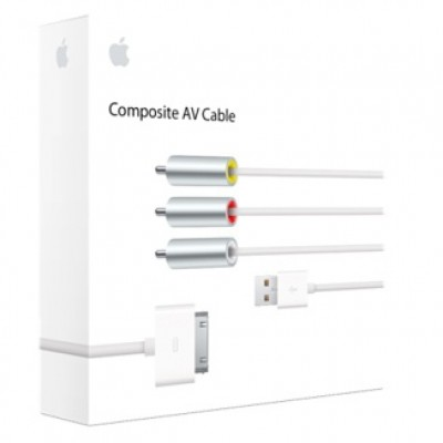 Cable de Audio y Video Composite AV Cable - SPA APPLE MC748E/A