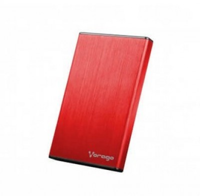 Enclosure HDD-201 VORAGO HDD-201-ROJO