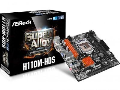 Tarjeta Madre H110M-HDS ASROCK H110M-HDS